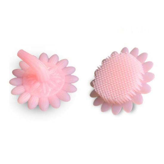 Silicone baby bathbrushes