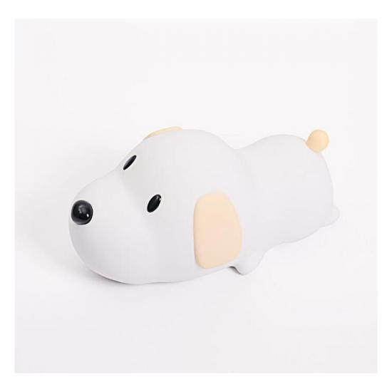 soft silicone puppy LED lamp