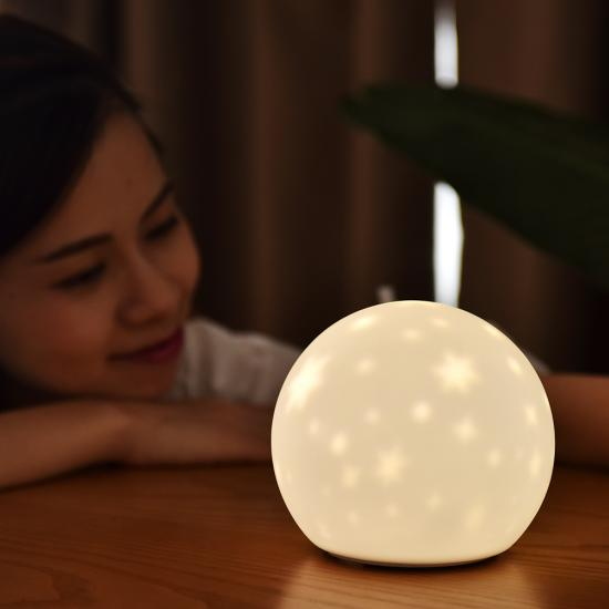 Silicone baby night light lamp