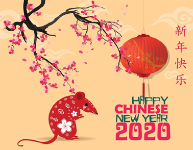 Chinese New Year for 2020
